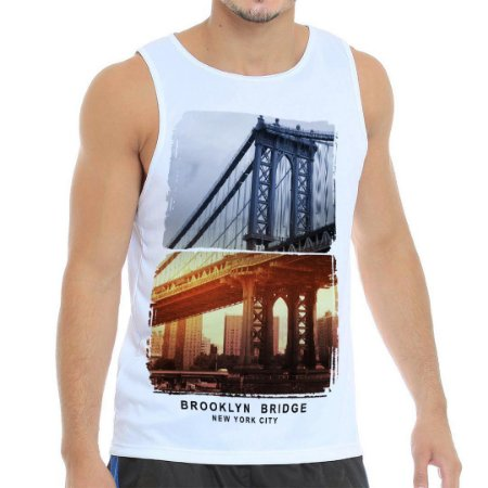 Regata Masculina Brooklyn Bridge