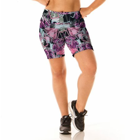 Shorts Estampado Elementos Alta Perfomance