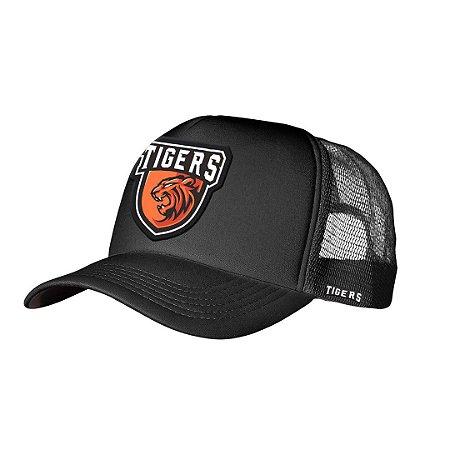 Boné Trucker Tigers Preto
