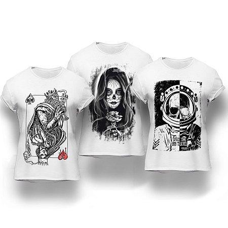 Kit Big Travel 3 Camisetas