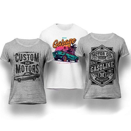 9beb00d177 ... CAMISETAS MASCULINAS · REGATAS MASCULINAS. Kit Garage 3 Camisetas