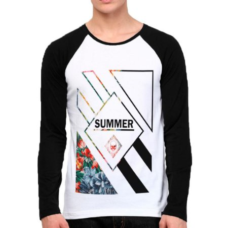 Camiseta Manga Longa Summer