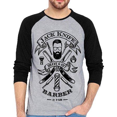 Camiseta Manga Longa Barber