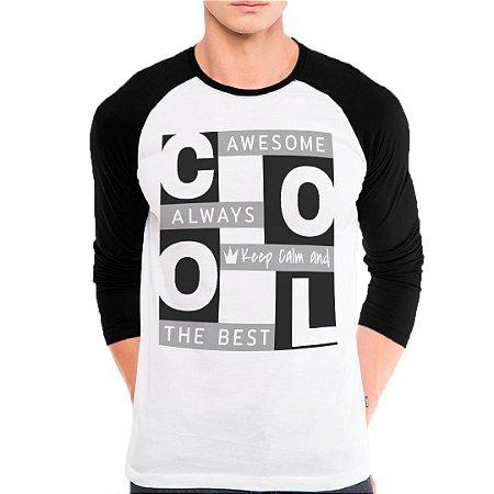 Camiseta Manga Longa Cool