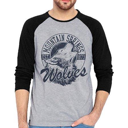 Camiseta Manga Longa Wolves
