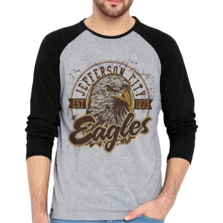 Camiseta Manga Longa Eagle