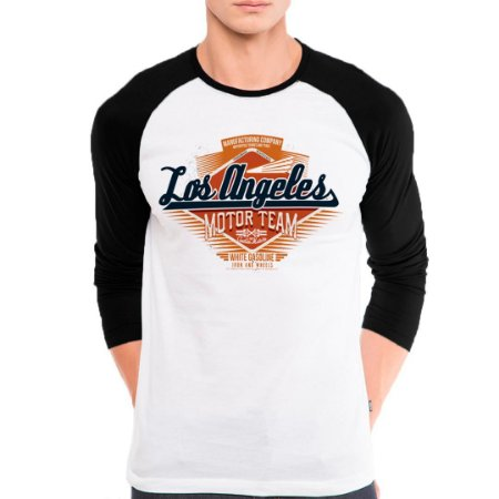 Camiseta Manga Longa Los Angeles