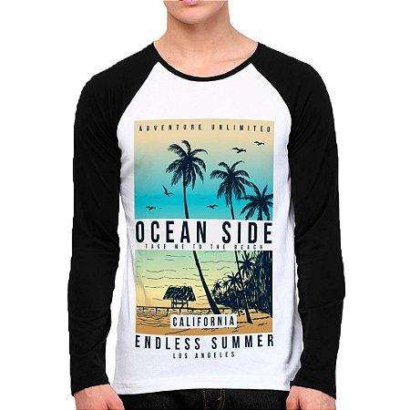Camiseta Manga Longa Ocean Side