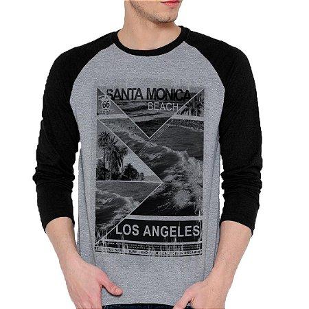 Camiseta Manga Longa Santa Monica