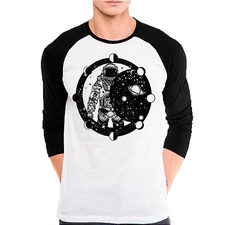 Camiseta Manga Astronauta
