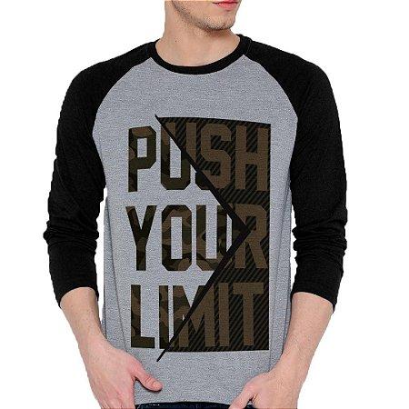 Camiseta Manga Longa Pusch Your Limit