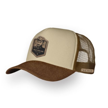 Boné Trucker Old Sailor Camel
