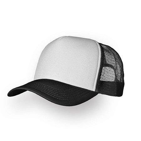 Boné Personalizado Preto e Branco