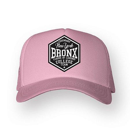 Boné Trucker Bronx Rosa