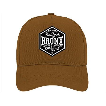 Boné Aba Curva Bronx Marrom