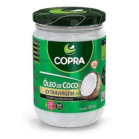 Oleo De Coco Extra-Virgem 500Ml Copra