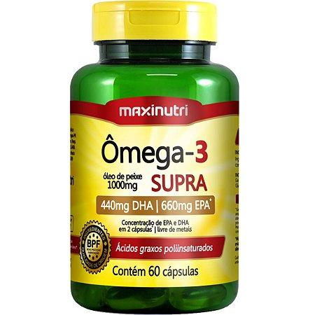 Omega 3 Supra 60Cps 1G Maxinutri