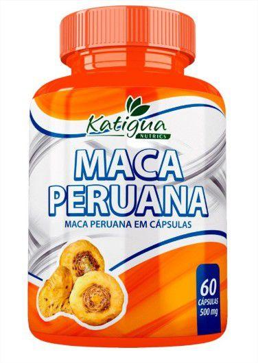 Maca Peruana 60Cps 500Mg Katigua