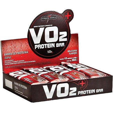 Vo2 Whey Bar Choc 12Un 30G Integralmedica