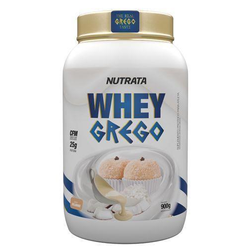 Whey Grego 900G Beijinho Nutrata