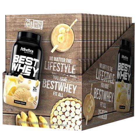 Best Whey Creme De Ban 15Sac X 40G Atlhetica Nutrition