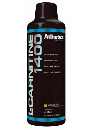 L-Carnitine 1400 480Ml Limao Atlhetica Nutrition