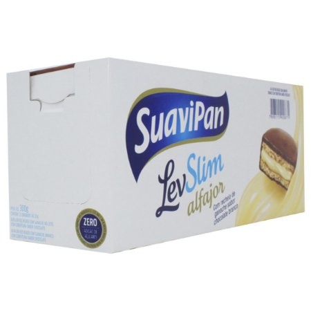 Alfajor Chocolate ao Leite 12Un X 25G SuaviPan