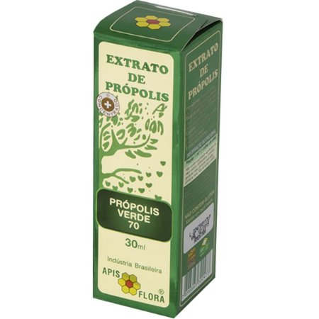 Extrato De Propolis Verde 70 30Ml Apisflora