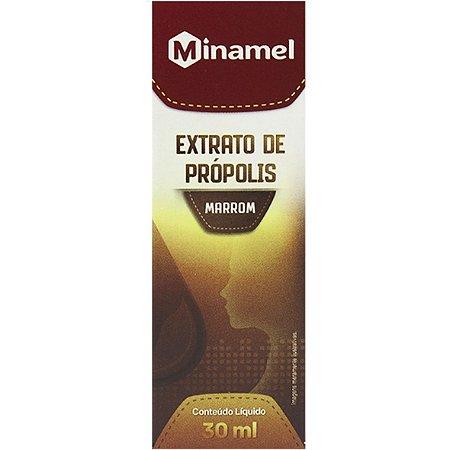 Extrato De Propolis Marron 30Ml Minamel