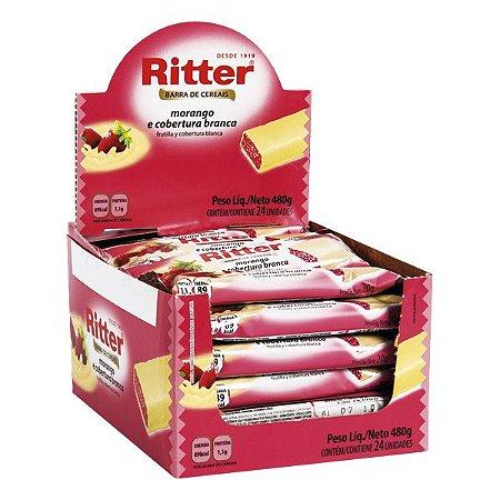 Barra Cereal Mor/Choc Branco 20G 24Un Ritter