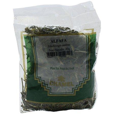 Alfafa Folhas A Granel 30G Chamel
