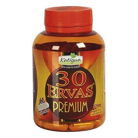 Cha 30 Ervas Premium 60Cps 525Mg Katigua