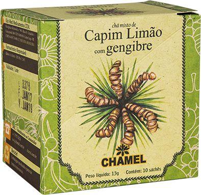 Capim Limao/Gengibre 10Env 13G Chamel