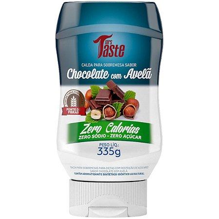 Calda Chocolate C/ Avelã Zero 335G Mrs Taste