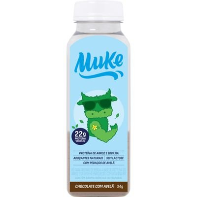 Garrafinha Muke 34G Proteina Veg Choc/Avela