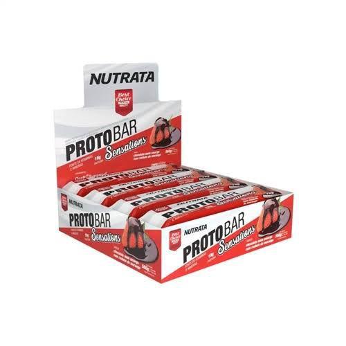 Protobar 8Un 70G Sensations Whey Nutrata