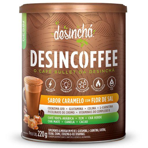 Desincoffee Caramelo com Flor de Sal 220g Desinchá