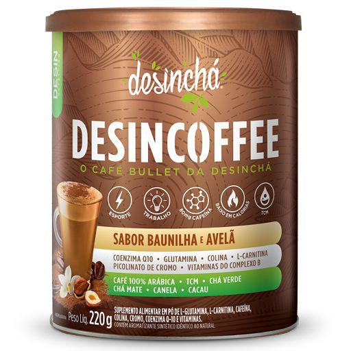 Desincoffee Baunilha com Avelã 220g Desinchá