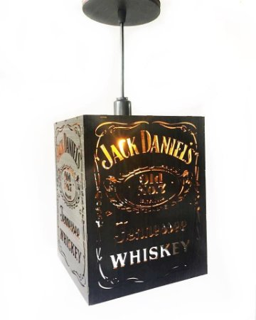 Pendente Jack Daniels - Pequeno