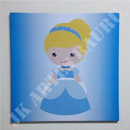 Placa Decorativa - Cinderela