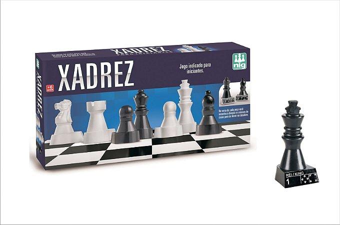 Jogo de Xadrez - Peças Grandes - NIG