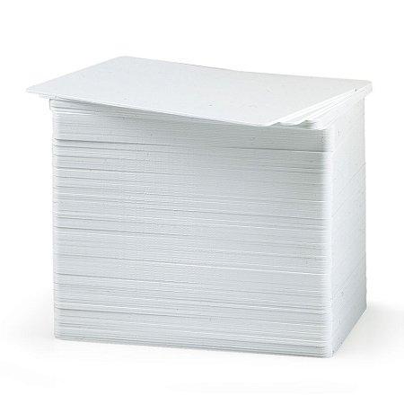 Cartão PVC Branco CR80 0,76 mm para Termo-transferência