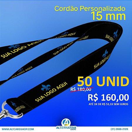 Cordão Personalizado 15 mm  (50 unid)
