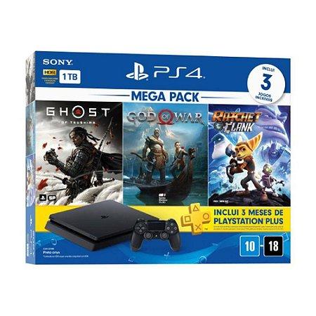 Playstation 4 CUH-2214B 1TB Ghost/Gow/Ratchet