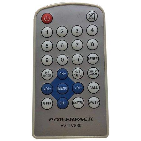 Controle Remoto Para Tv Powerpack AV-TV880