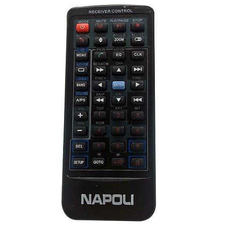 Controle Remoto para Dvd Portátil Napoli