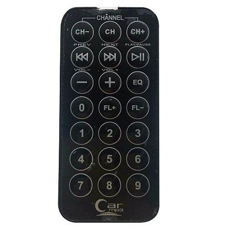 Controle Remoto Para Transmissor FM Car MP3