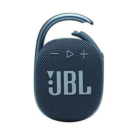 Caixa de Som Portátil JBL Clip 4 Bluetooth Azul