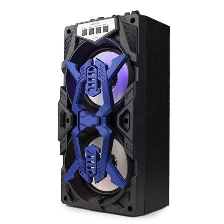 Caixa de Som Grasep D-BH4205 Azul