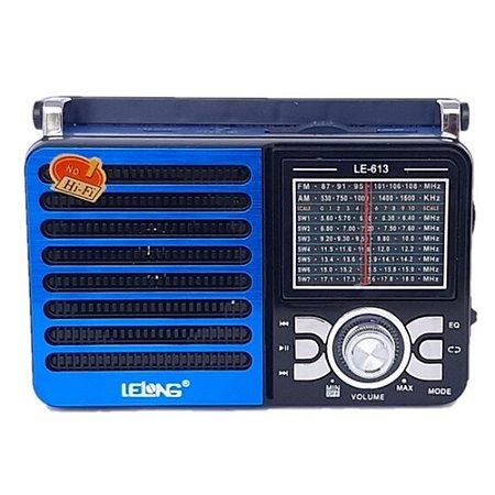 Rádio Lelong LE-613 3 Faixas AM/FM/SW1-1 Azul
